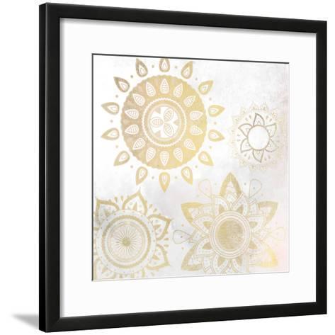 Mandala Golden 1-Kimberly Allen-Framed Art Print