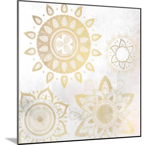 Mandala Golden 1-Kimberly Allen-Mounted Art Print