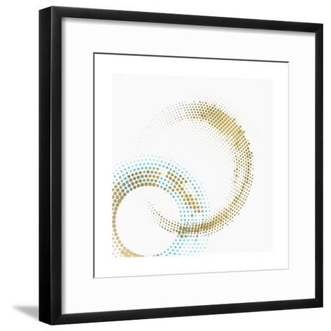 Circle Point 1-Kimberly Allen-Framed Art Print