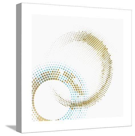 Circle Point 1-Kimberly Allen-Stretched Canvas Print