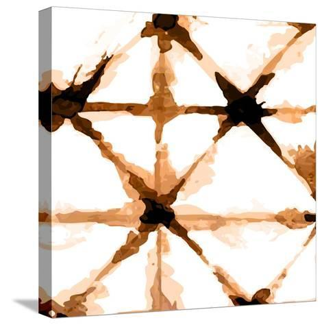 Copper Whites 1-Kimberly Allen-Stretched Canvas Print