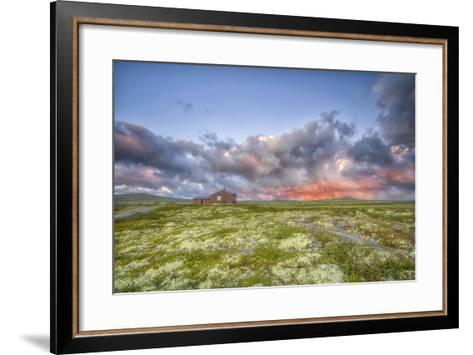 The Anger Of The Heavens-Viviane Fedieu-Daniel-Framed Art Print