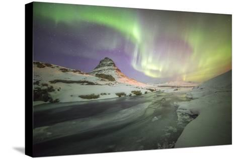 Kirkjufell Curves-Philippe Manguin-Stretched Canvas Print