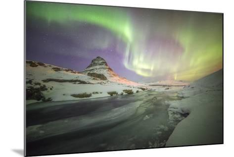 Kirkjufell Curves-Philippe Manguin-Mounted Photographic Print