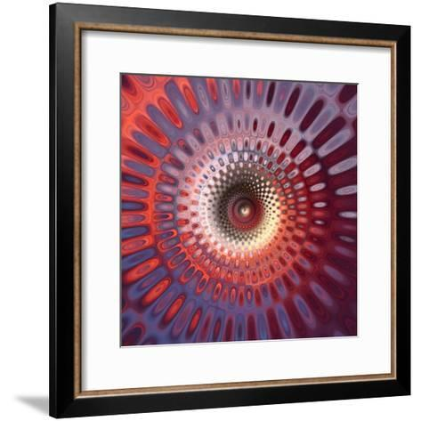 Variations On A Circle 8-Philippe Sainte-Laudy-Framed Art Print