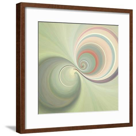 Variations On A Circle 3-Philippe Sainte-Laudy-Framed Art Print