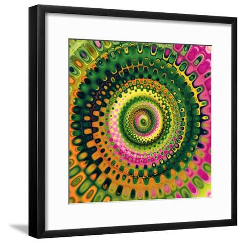 Variations On A Circle 9-Philippe Sainte-Laudy-Framed Art Print
