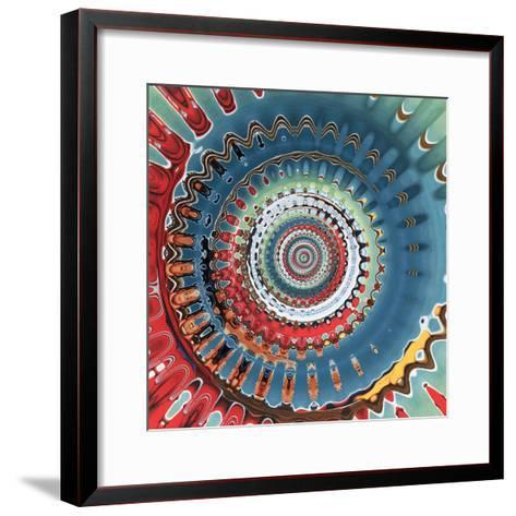 Variations On A Circle 10-Philippe Sainte-Laudy-Framed Art Print
