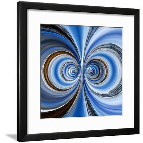 Variations On A Circle 15-Philippe Sainte-Laudy-Framed Art Print