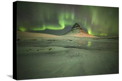 Kirkjufell Moutain-Philippe Manguin-Stretched Canvas Print