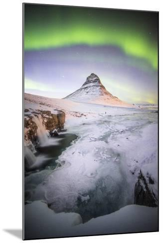 The Kirkjufell Green Arch-Philippe Manguin-Mounted Photographic Print