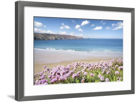 The Trepassed Bay And Beach In Brittany-Philippe Manguin-Framed Art Print