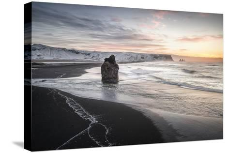 Vik Dyrholaey-Philippe Manguin-Stretched Canvas Print