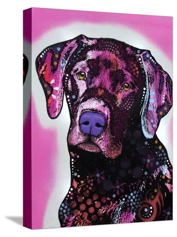 Black Lab-Dean Russo-Stretched Canvas Print