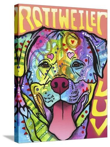 Rottweiler Luv-Dean Russo-Stretched Canvas Print