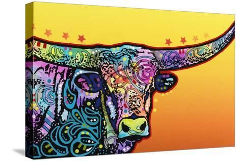 Longhorn-Dean Russo-Stretched Canvas Print
