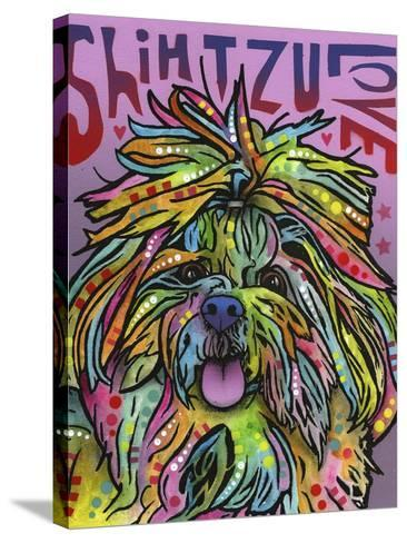 Shih Tzu Luv-Dean Russo-Stretched Canvas Print