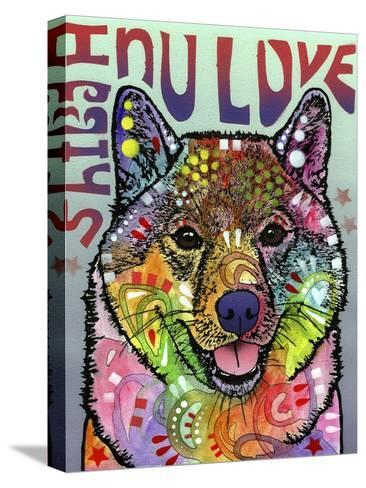 Shiba Inu Luv-Dean Russo-Stretched Canvas Print