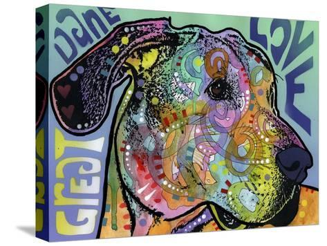 Great Dane Luv-Dean Russo-Stretched Canvas Print
