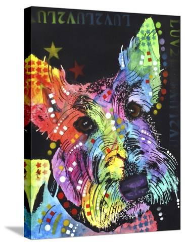 Scottish Terrier-Dean Russo-Stretched Canvas Print