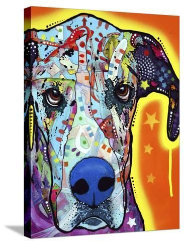 Great Dane-Dean Russo-Stretched Canvas Print