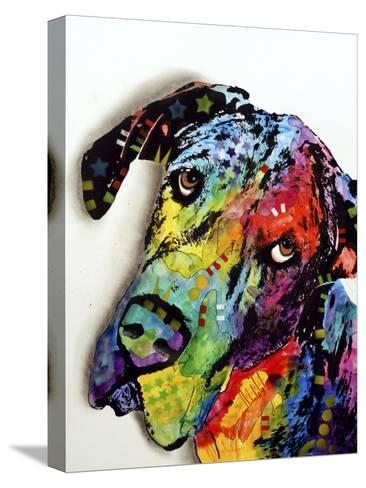 Tilted Dane-Dean Russo-Stretched Canvas Print
