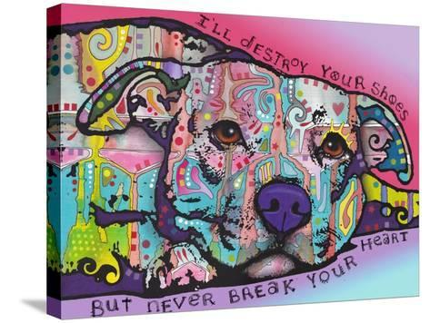 Never Break Your Heart-Dean Russo-Stretched Canvas Print