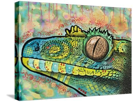 Gecko-Dean Russo-Stretched Canvas Print