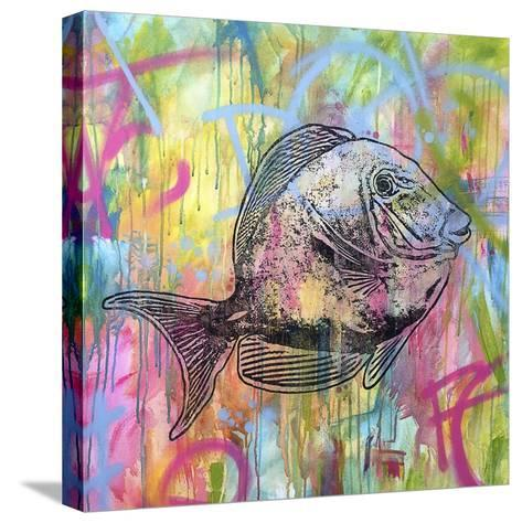 Blue Tang-Dean Russo-Stretched Canvas Print