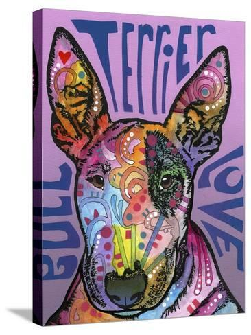 Bull Terrier Luv-Dean Russo-Stretched Canvas Print