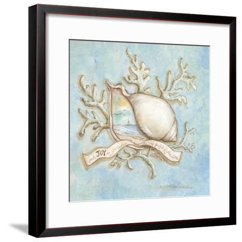 Treasures of the Tide III-Kate McRostie-Framed Art Print