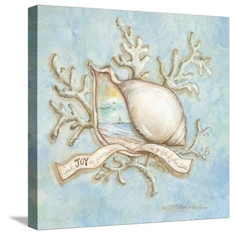Treasures of the Tide III-Kate McRostie-Stretched Canvas Print