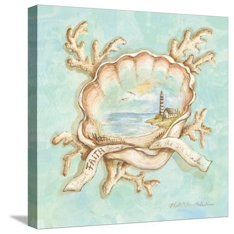 Treasures of the Tide IV-Kate McRostie-Stretched Canvas Print