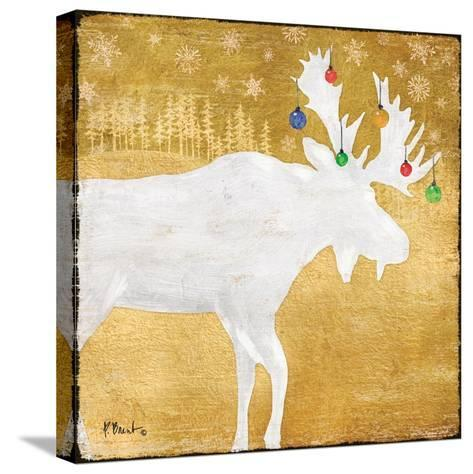 Gold Holiday IV-Paul Brent-Stretched Canvas Print