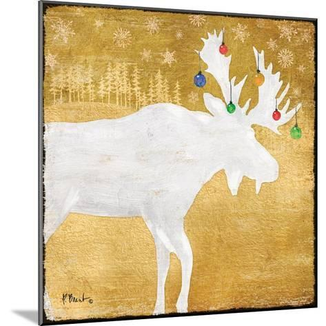 Gold Holiday IV-Paul Brent-Mounted Art Print