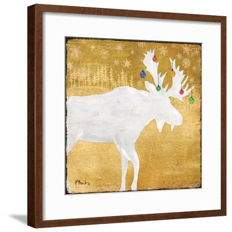 Gold Holiday IV-Paul Brent-Framed Art Print