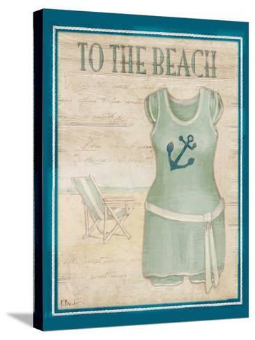 Vintage Bathing Suit IV-Paul Brent-Stretched Canvas Print