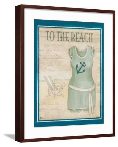 Vintage Bathing Suit IV-Paul Brent-Framed Art Print