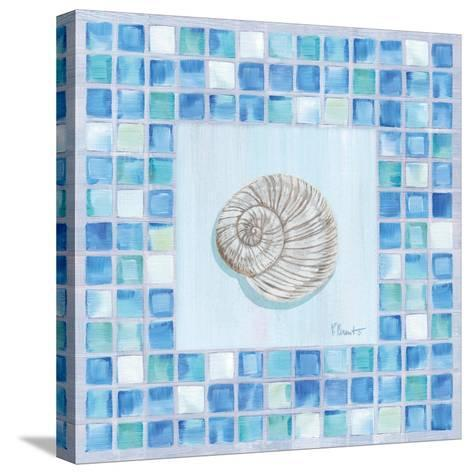 Mosaic Moonshell-Paul Brent-Stretched Canvas Print