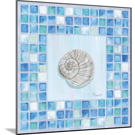 Mosaic Moonshell-Paul Brent-Mounted Art Print