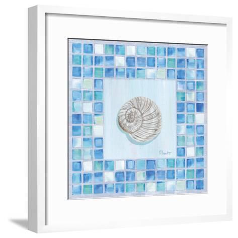 Mosaic Moonshell-Paul Brent-Framed Art Print