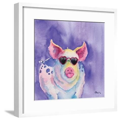 Sunny Farm III-Paul Brent-Framed Art Print