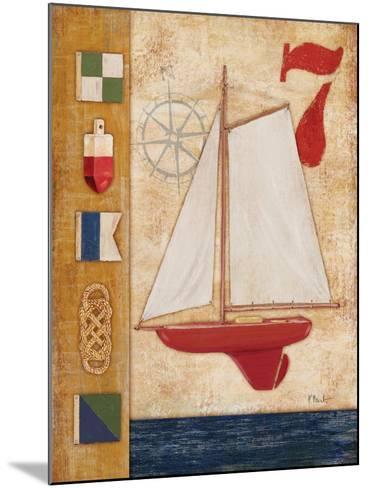 Model Yacht Collage III-Paul Brent-Mounted Art Print