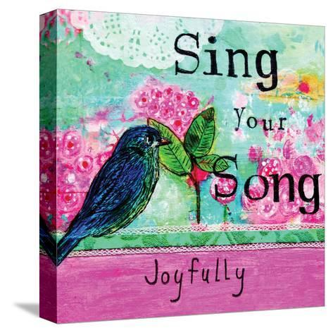 Sing Your Song-Belinda Dworak-Stretched Canvas Print