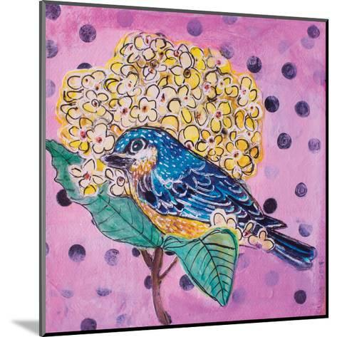 Blue Bird-Belinda Dworak-Mounted Art Print