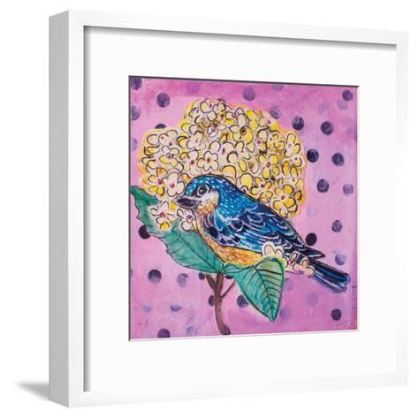 Blue Bird-Belinda Dworak-Framed Art Print