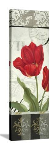 Etude en Rouge Panel II-Pamela Gladding-Stretched Canvas Print