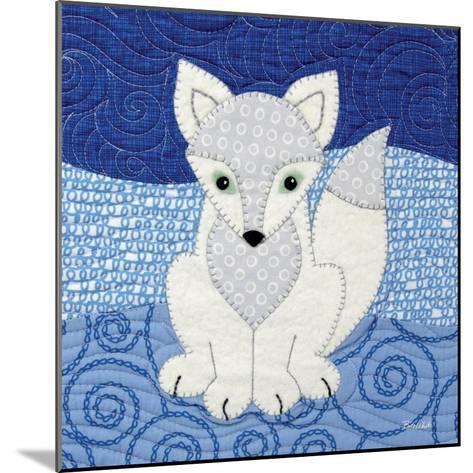 Arctic Fox-Betz White-Mounted Art Print