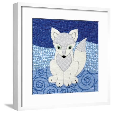 Arctic Fox-Betz White-Framed Art Print