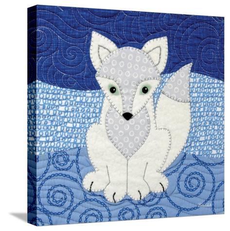 Arctic Fox-Betz White-Stretched Canvas Print